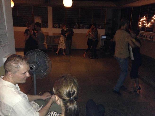 Tango Milonga in Auroville, India