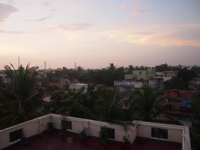 Thiruvanmiyur Rooftop View South