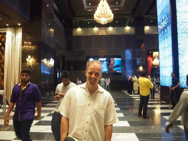 Alton in Luxe Cinemas, Phoenix Mall, Chennai, India