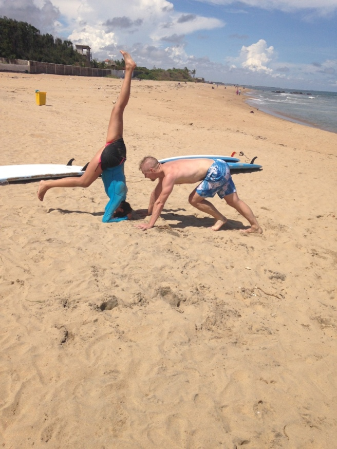 Covelong Point Handstand Progression 2