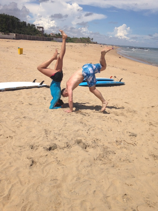 Covelong Point Handstand Progression 3