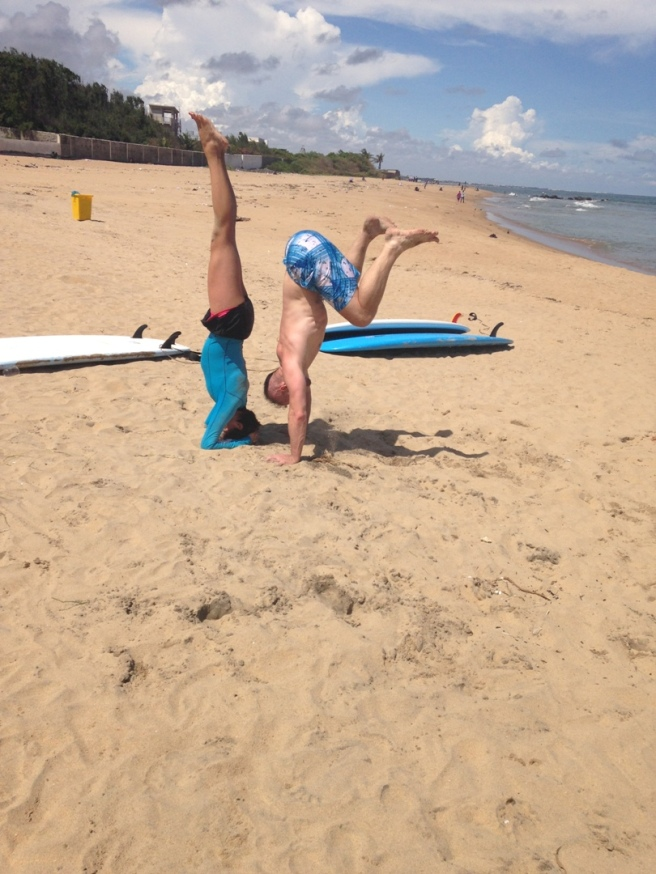 Covelong Point Handstand Progression 5