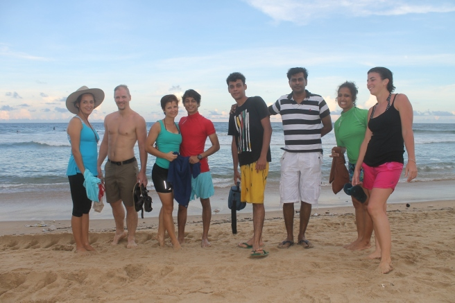 Mahabalipuram Beach Group Photo