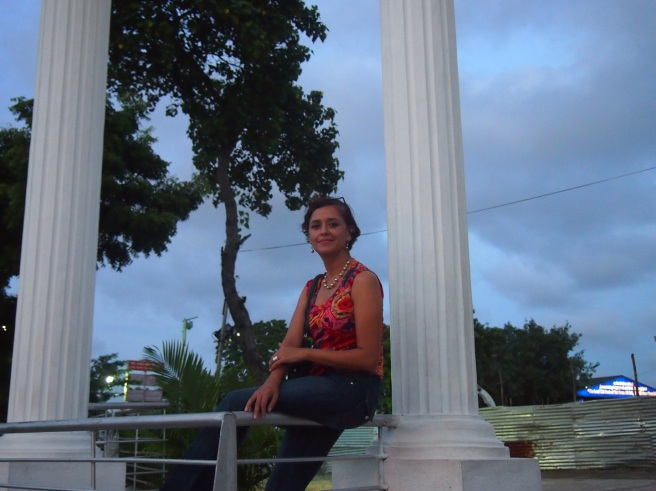Mónica on Saint Thomas Mount, Chennai