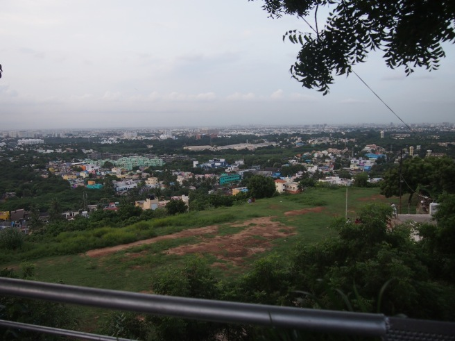 View of Chennai from Saint Thomas Mount